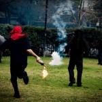 Répression contre les émeutiers