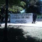 Actes de solidarité depuis le Chili avec les compas séquestré-e-s en Espagne